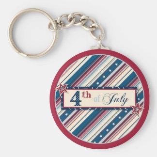 Freedom Stripe Keychain B