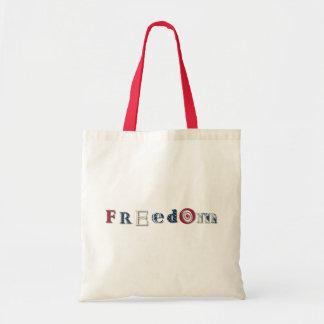 Freedom Stripe Tote Bag