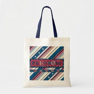 Freedom Stripe Tote Bag II
