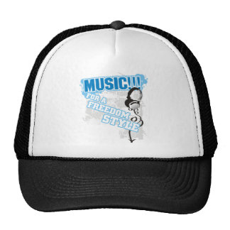 Freedom Style Music Trucker Hat