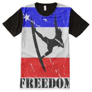 Freedom Surfing ALL-OVER-T All-Over Print Shirt
