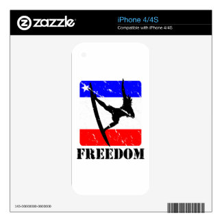 Freedom Surfing ELECTRONICS iPhone 4S Skins