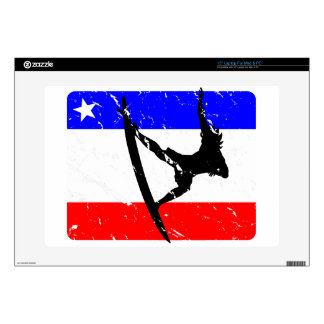 """Freedom Surfing ELECTRONICS 15"""" Laptop Decal"""