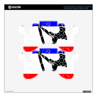 Freedom Surfing ELECTRONICS Skin For PS3 Controller