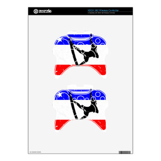 Freedom Surfing ELECTRONICS Xbox 360 Controller Decal