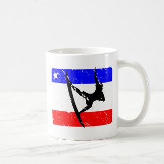 Freedom Surfing KITCHENWARE Classic White Coffee Mug