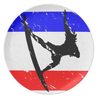 Freedom Surfing KITCHENWARE Melamine Plate