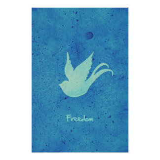 Freedom swallow poster