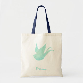 Freedom swallow tote bag
