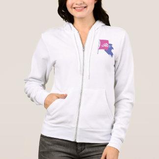 Freedom sweatshirt (women's hoodie / zip / pocket)