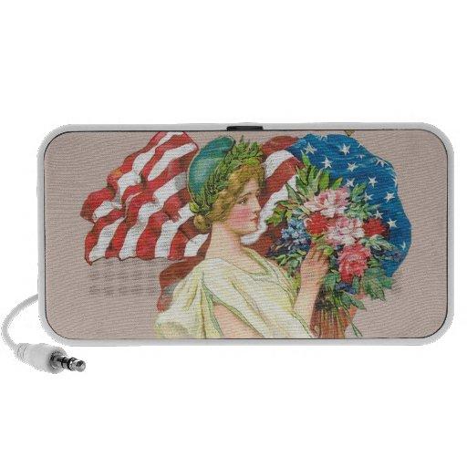 freedom symbols portable speaker