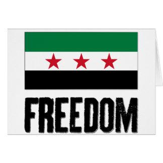 Freedom - Syria Card