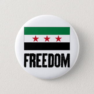 Freedom - Syria Pinback Button