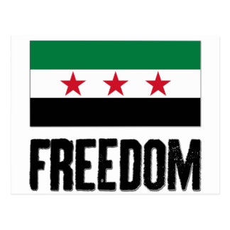Freedom - Syria Postcard