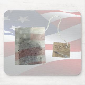 Freedom TeaBag Mouse Pad