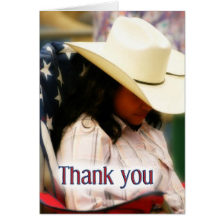 Freedom Thank You to Troops Greeting Card