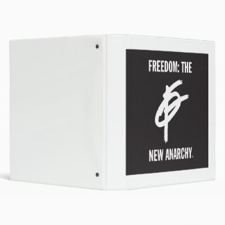 Freedom: the new Anarchy 3 Ring Binder