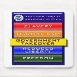 Freedom Threat Advisory Mousepad