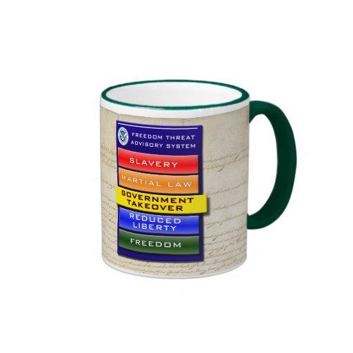 Freedom Threat Advisory Mug