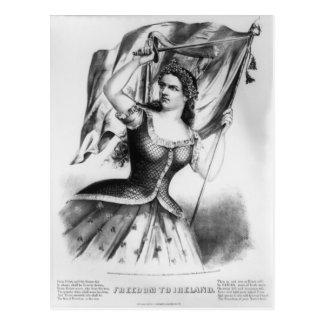 Freedom to Ireland! Post Card