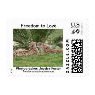Freedom to Love Postage Stamp