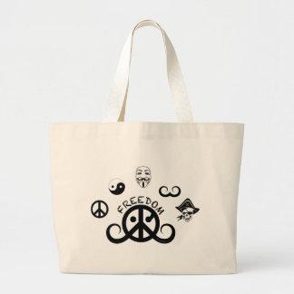 """Freedom tote bag (20x15""""/origin motif)"""