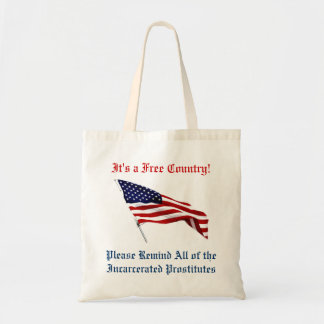 Freedom Totebag Canvas Bags