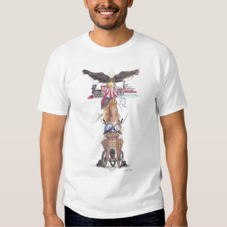 Freedom Totem T Shirt