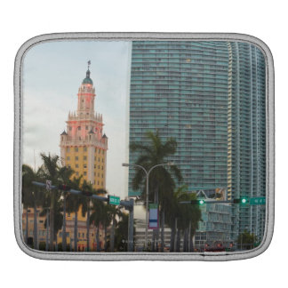 Freedom tower and highrise buildings iPad sleeves