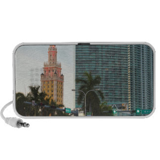 Freedom tower and highrise buildings iPhone speakers