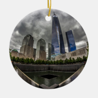 Freedom Tower Ceramic Ornament
