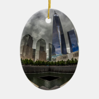 Freedom Tower Ceramic Ornament