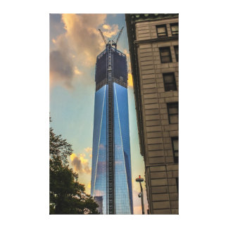 Freedom Tower in New York City Canvas Print