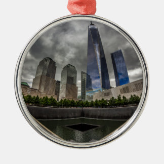 Freedom Tower Metal Ornament