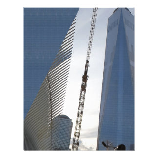 Freedom Tower New York formerly World Trade Centre Letterhead