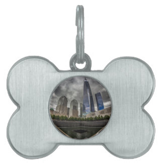 Freedom Tower Pet Name Tag
