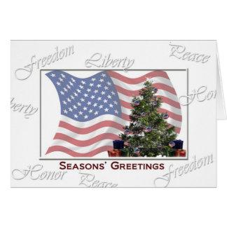 Freedom Tree Christmas card