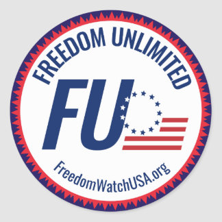 Freedom Unlimited Classic Round Sticker