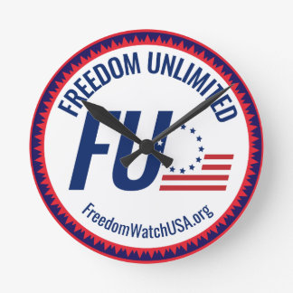 Freedom Unlimited Round Clock