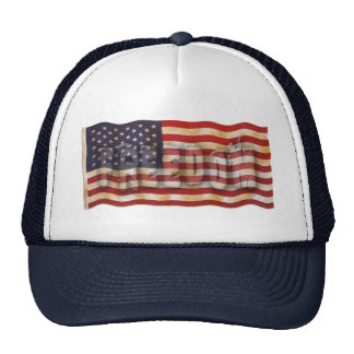 Freedom USA American Flag Hat