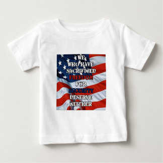 Freedom vs Security Baby T-Shirt