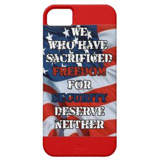 Freedom vs Security iPhone SE/5/5s Case