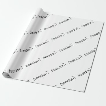 Freedom Wrapping Paper