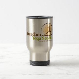 Freedom Yoga Studio Travel Mug