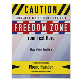 Freedom Zone Poster