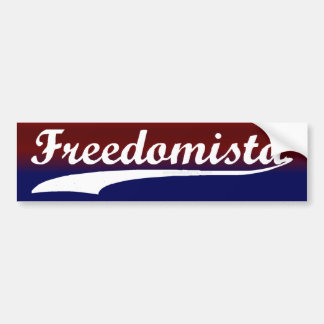 Freedomista Bumper Sticker