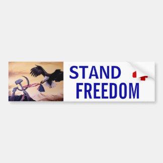 """Freedom's Battle"" bumper sticker Car Bumper Sticker"