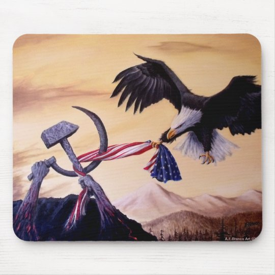 """""""Freedoms Battle"""" mouse pads"""