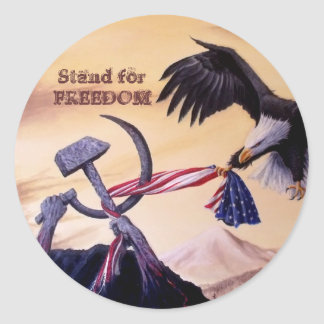 """Freedom's Battle""  sticker"