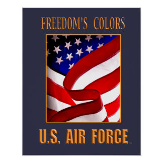 Freedom's Colors Poster